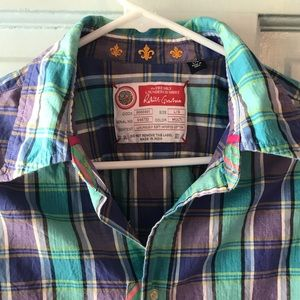 Robert Graham freshly laundered shirt plaid L